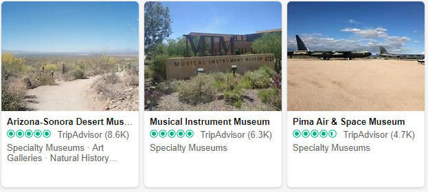 Museums and exhibitions in Arizona