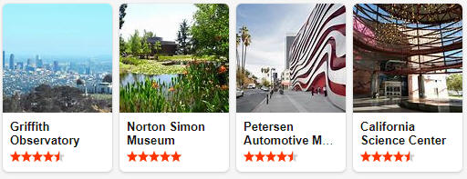Museums and exhibitions in California