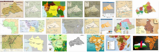 Maps of Central African Republic