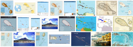 Maps of St. Kitts & Nevis