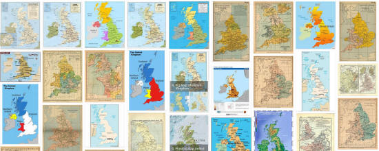 Maps of United Kingdom