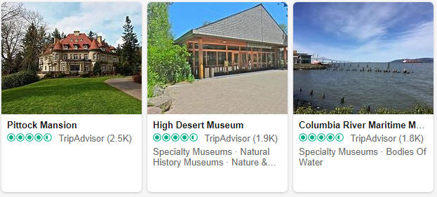 Museums and exhibitions in Oregon
